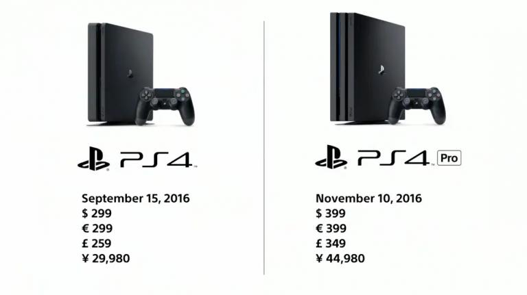 PlayStation 4 Pro Arrives Nov. 10