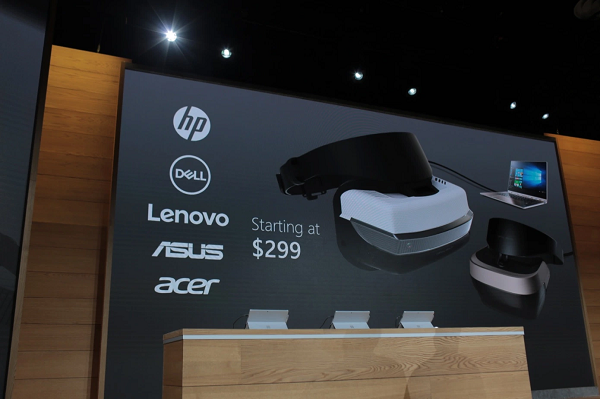 Microsoft Partners for $299 Virtual Reality Headsets