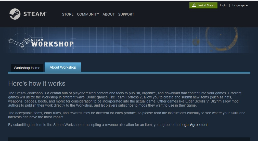 Steam Workshop Drives User Generated Content