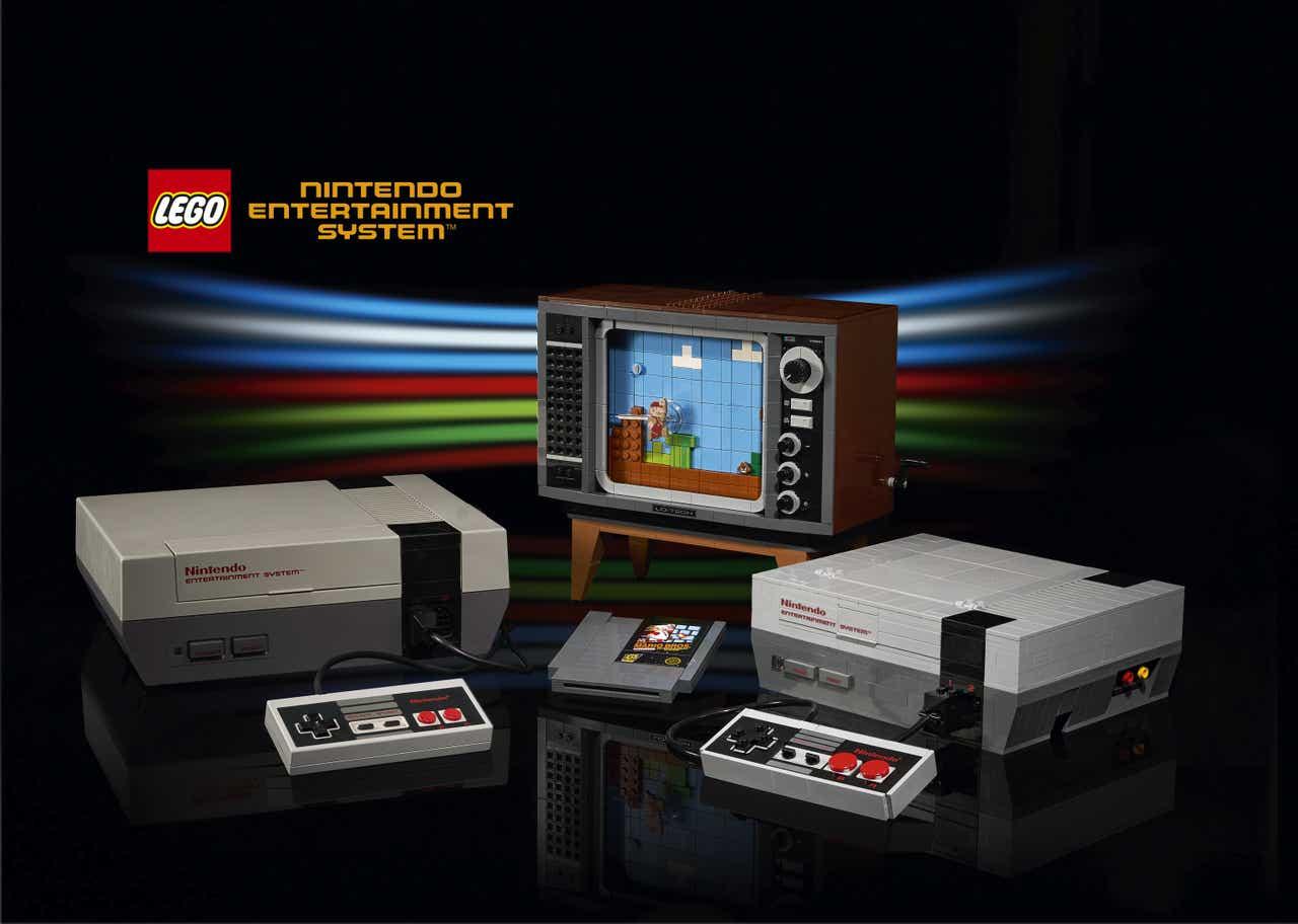 Lego and Nintendo Go Big On Video Game Nostalgia