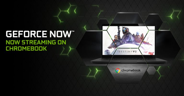 Nvidia GeForce Now Service Expands to Chromebook