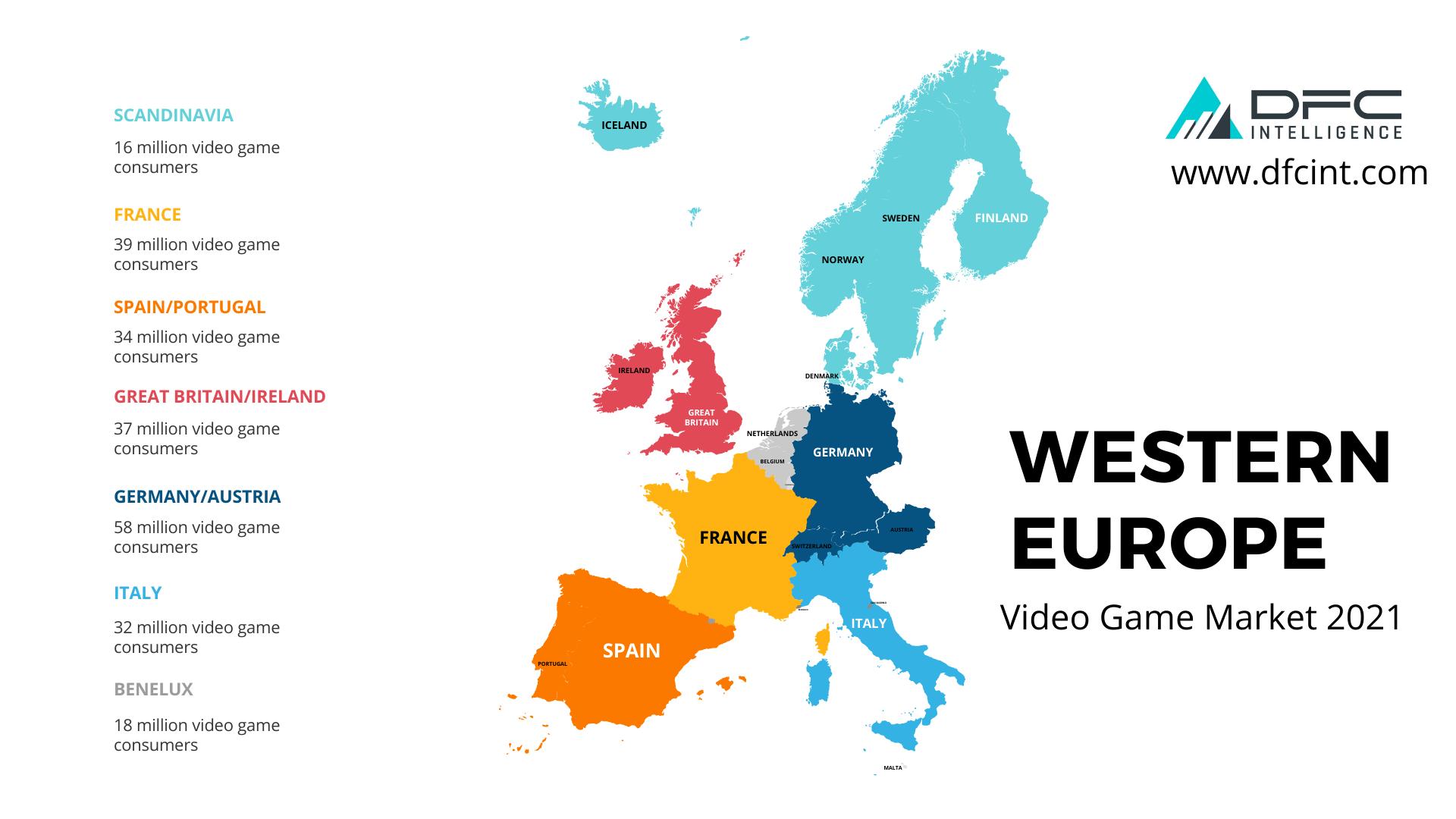 Western European Video Game Market 2021